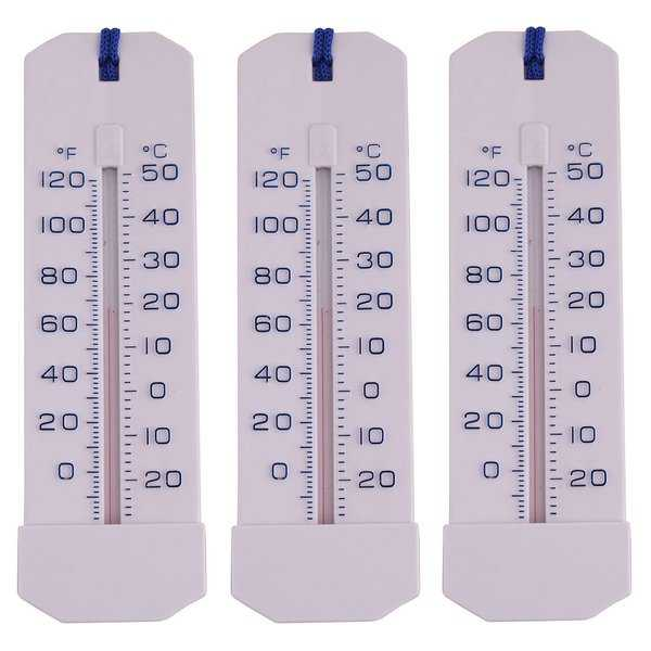 Pool, Pond, or Tub Thermometer (Pack of 3)